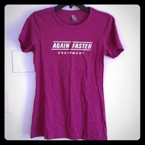 Women's Again Faster t-shirt!